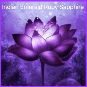 Jewelry - Indian Emerald Ruby Sapphire Jewelry